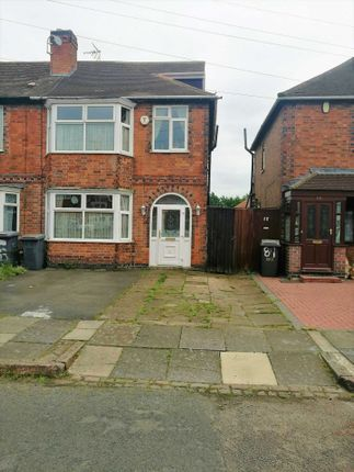 Thumbnail Semi-detached house to rent in Highbury Road, Leicester