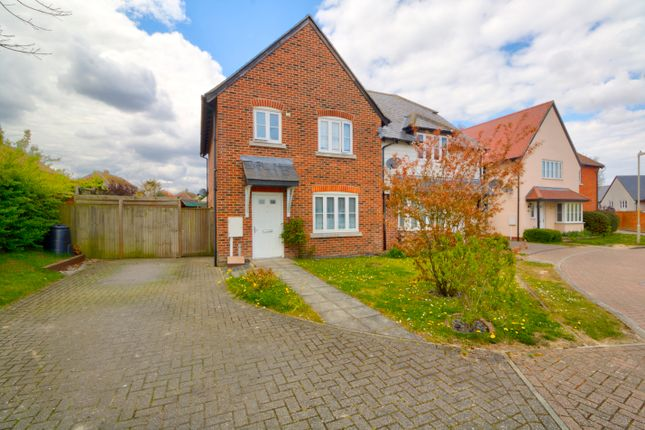 Thumbnail Semi-detached house for sale in Miller Close, Wingham, Canterbury