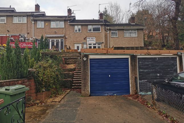 Thumbnail Terraced house to rent in The Gardens, Ynysddu