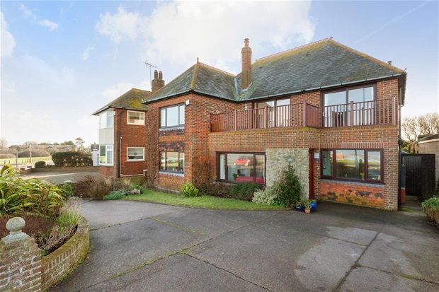 Thumbnail Detached house for sale in Marine Crescent, Tankerton, Whitstable