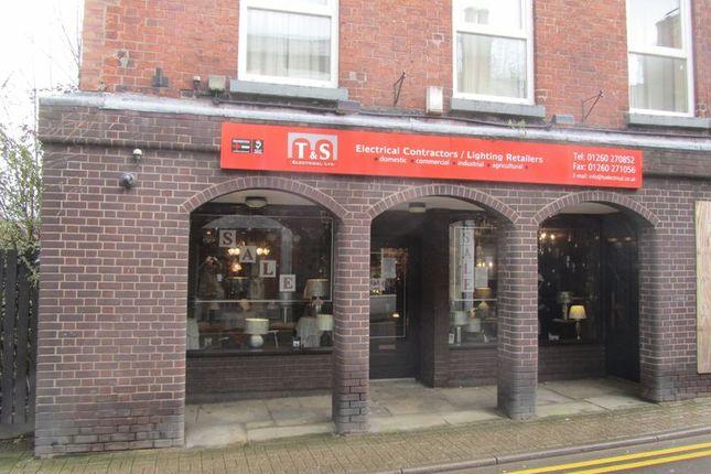 Thumbnail Retail premises to let in Mill Street, Congleton