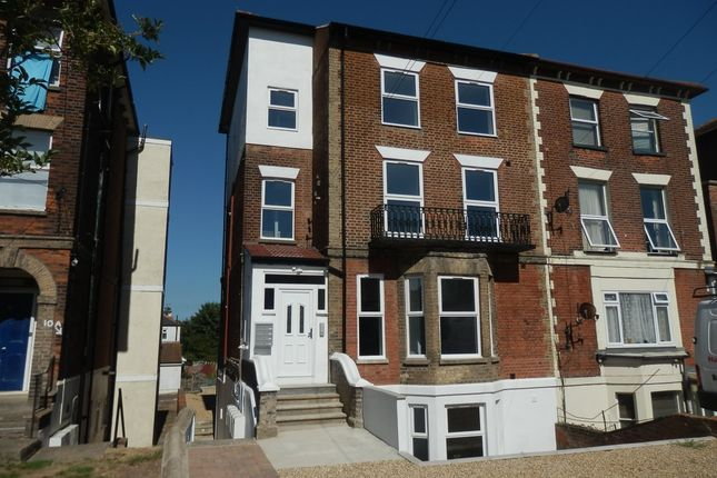 Thumbnail Flat for sale in 8 Cliff Road, Dovercourt