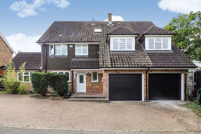 Thumbnail Detached house for sale in Great Oaks, Hutton, Brentwood, Essex