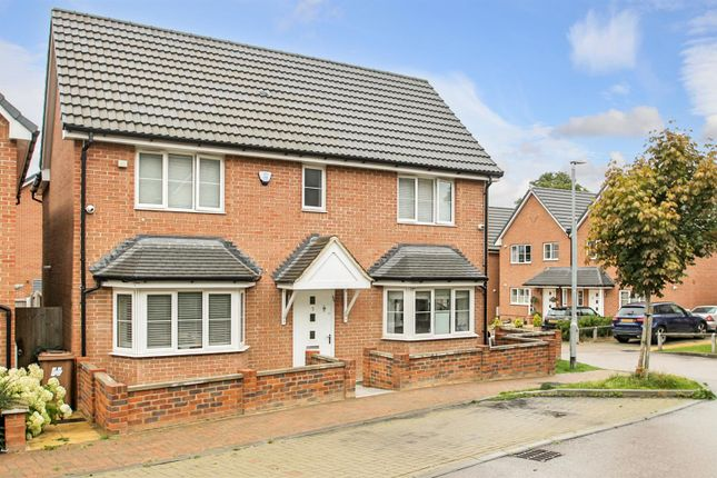 Thumbnail Detached house for sale in Herne Close, Bushey