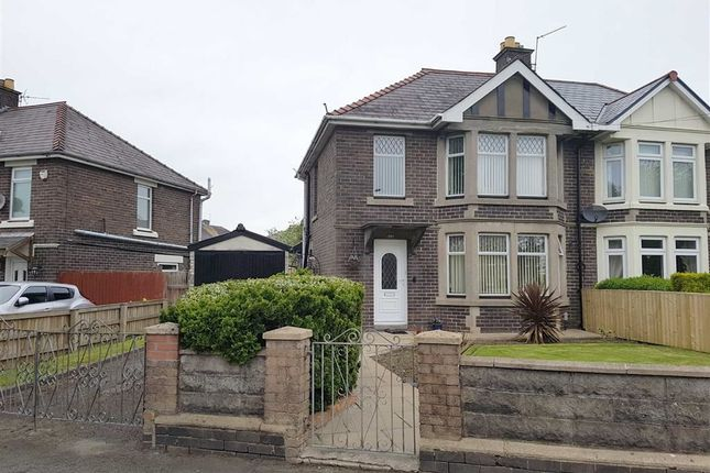 Thumbnail Semi-detached house for sale in Barry Road, Barry