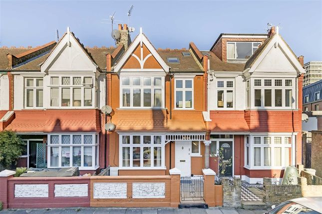 4 bed terraced house for sale in Nella Road, London