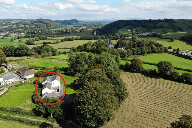 Thumbnail Detached house for sale in Maes Dewi, Pentremeurig Road, Carmarthen