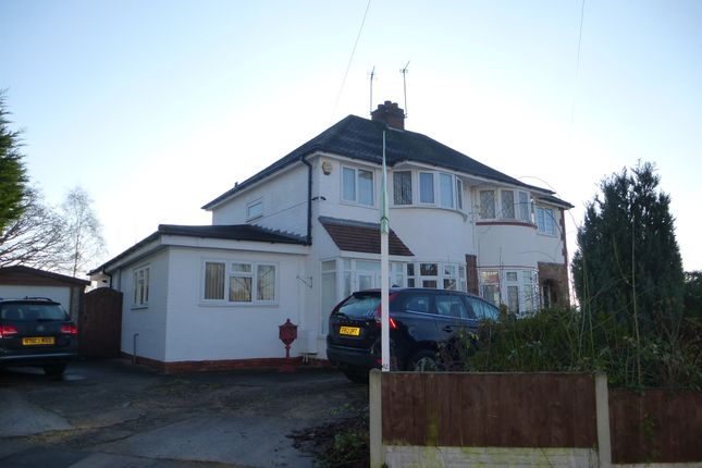3 bed semi-detached house for sale in Rectory Park Road, Sheldon, Birmingham