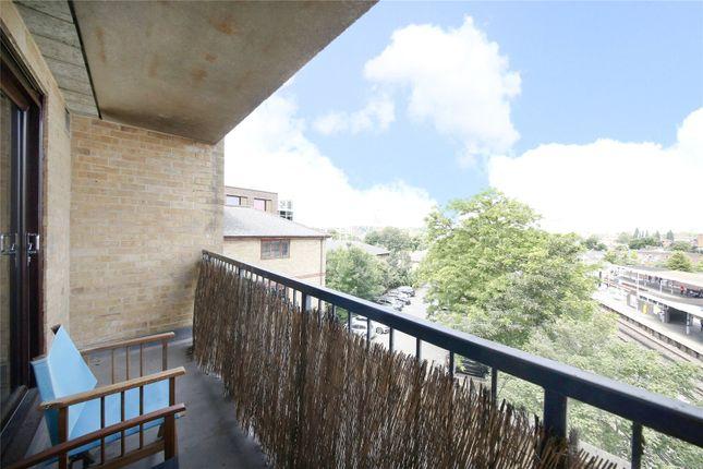 Balcony of Crossleigh Court, 407B New Cross Road, London SE14