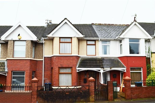 Thumbnail Terraced house for sale in Badminton Grove, Ebbw Vale, Blaenau Gwent