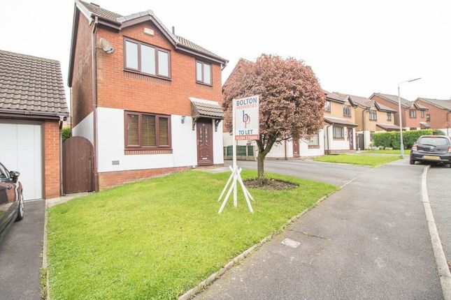 Thumbnail Detached house to rent in Oldstead Grove, Bolton