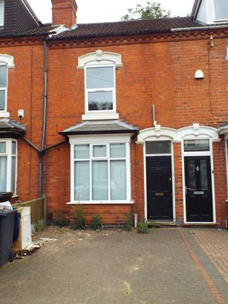 Thumbnail Terraced house to rent in Heeley Road, Selly Oak, Birmingham
