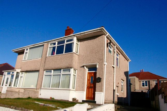 Thumbnail Semi-detached house for sale in Lowlands Road, Morecambe