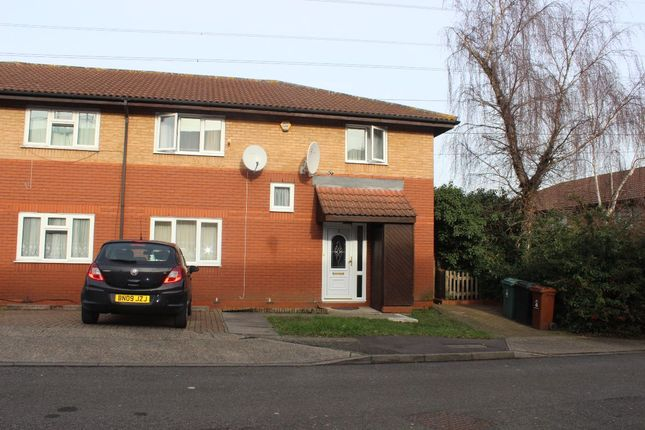 Thumbnail Semi-detached house to rent in Swift Close, London
