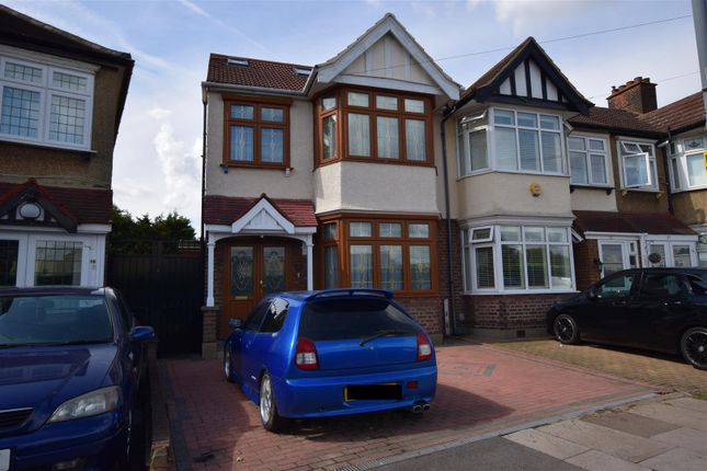 Thumbnail Semi-detached house for sale in Christie Gardens, Chadwell Heath, Romford