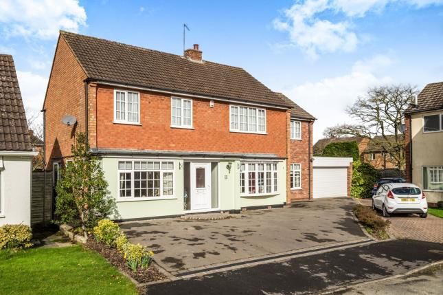 Thumbnail Detached house for sale in Rosehall Close, Solihull, West Midlands