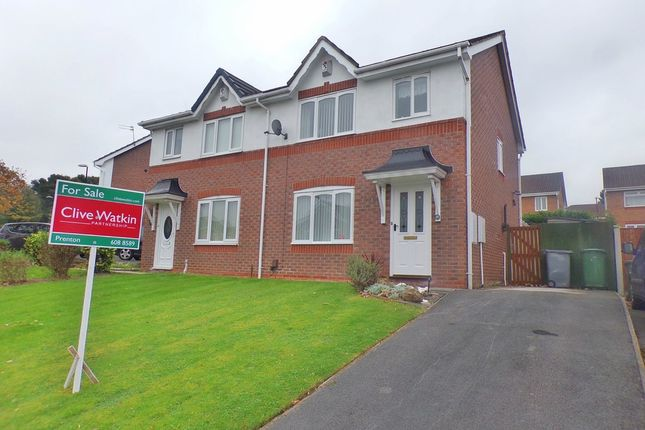 Thumbnail Semi-detached house for sale in Wilfred Owen Drive, Birkenhead