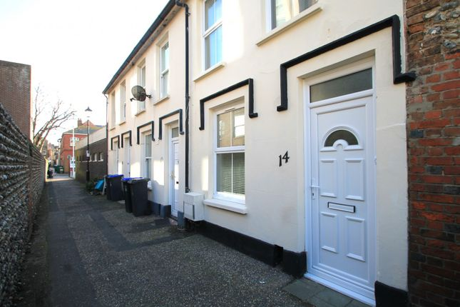 Thumbnail Terraced house to rent in Field Row, Worthing