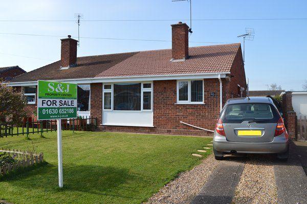 Thumbnail Semi-detached bungalow to rent in Windsor Drive, Market Drayton