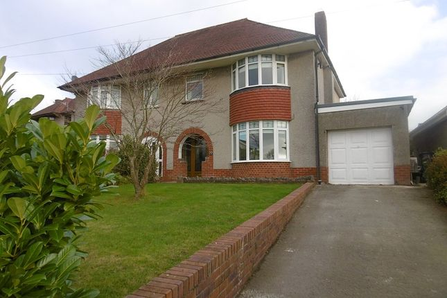 Thumbnail Semi-detached house for sale in Main Road, Bryncoch, Neath, Neath Port Talbot.
