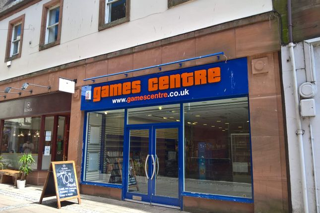 Thumbnail Retail premises to let in 10 Queensberry Street, Dumfries