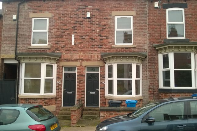 Thumbnail Terraced house to rent in Onslow Road, Sheffield