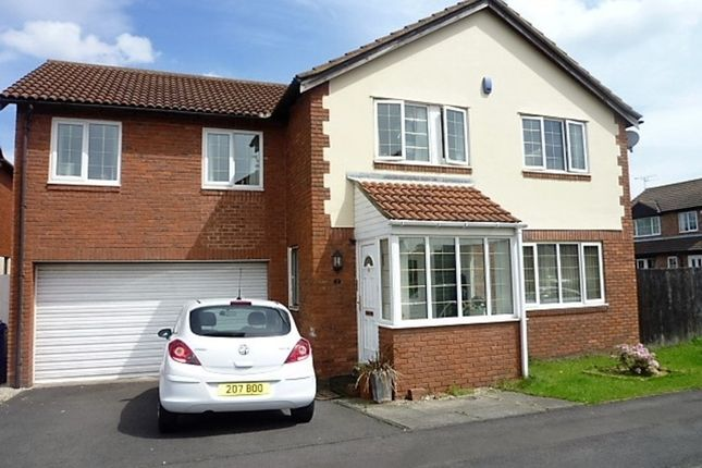 Thumbnail Detached house for sale in Thornbury Avenue, Seghill, Cramlington
