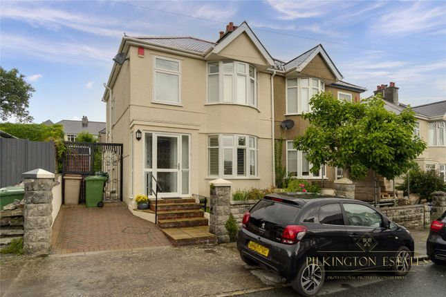 Thumbnail Semi-detached house for sale in Brynmoor Park, Plymouth