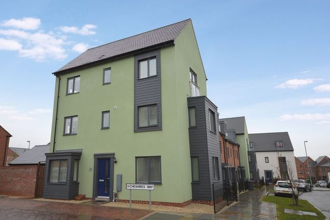 Thumbnail End terrace house for sale in Cheshires Way, Lawley Village, Telford, Shropshire.