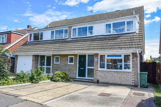 Thumbnail Semi-detached house for sale in Holm Oak, Colchester, Essex