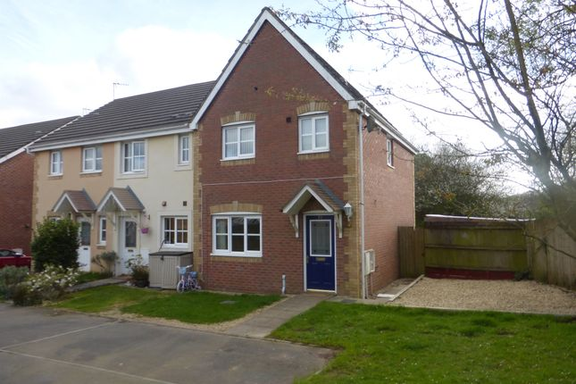 Thumbnail Semi-detached house for sale in St Peters Avenue, Llanharan, Pontyclun