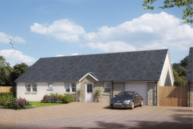Thumbnail Bungalow for sale in Castlegait Development, Glamis, Nr. Forfar