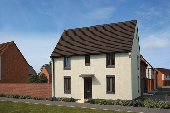 Thumbnail Semi-detached house for sale in Eastfield, Lawley Village, Telford