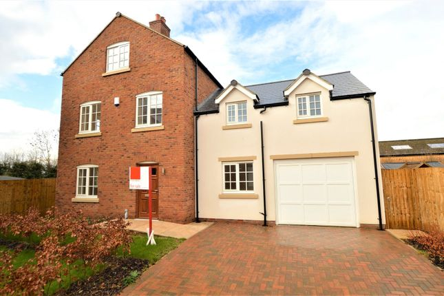Thumbnail Detached house for sale in Hawthorne Grove, Hunsingore, Wetherby, North Yorkshire