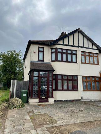 Thumbnail Semi-detached house to rent in Cherry Tree Close, Rainham, Essex