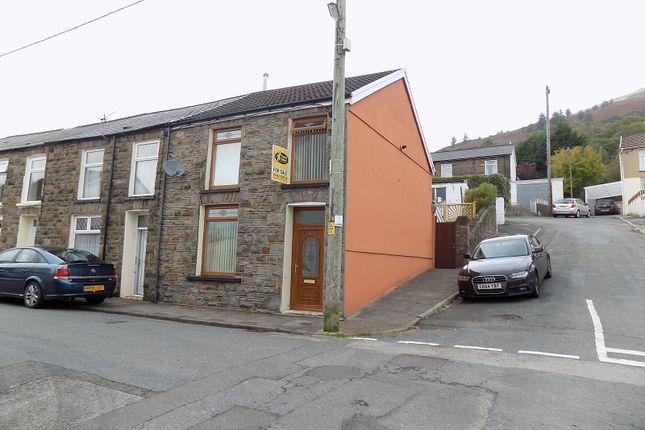 Thumbnail End terrace house for sale in Tynybedw Street, Treorchy, Rhondda, Cynon, Taff.