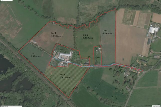 Thumbnail Land for sale in Allington Manor Farm, Allington Lane, Eastleigh