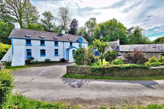 Thumbnail Detached house for sale in Llangwyryfon, Aberystwyth