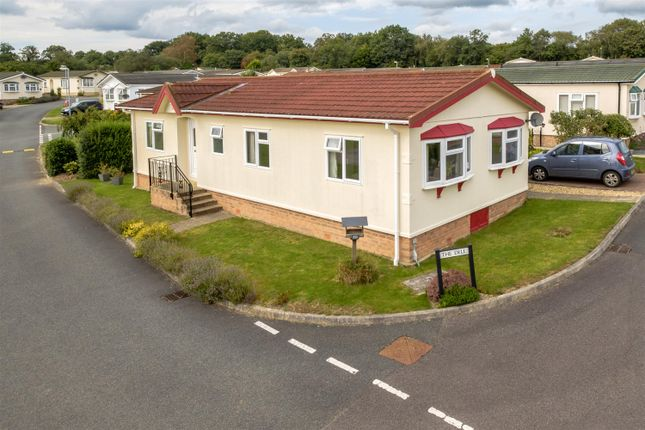 Thumbnail Mobile/park home for sale in 20 The Dell, Caerwnon Park, Builth Wells