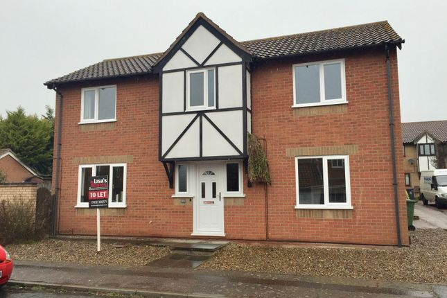 Thumbnail Detached house to rent in Cotman Drive, Bradwell, Great Yarmouth