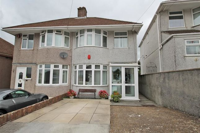 Thumbnail Semi-detached house for sale in Moor Lane, St Budeaux, Plymouth