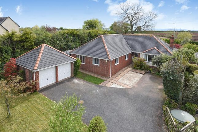 Thumbnail Detached bungalow for sale in St Owens Cross, Hereford