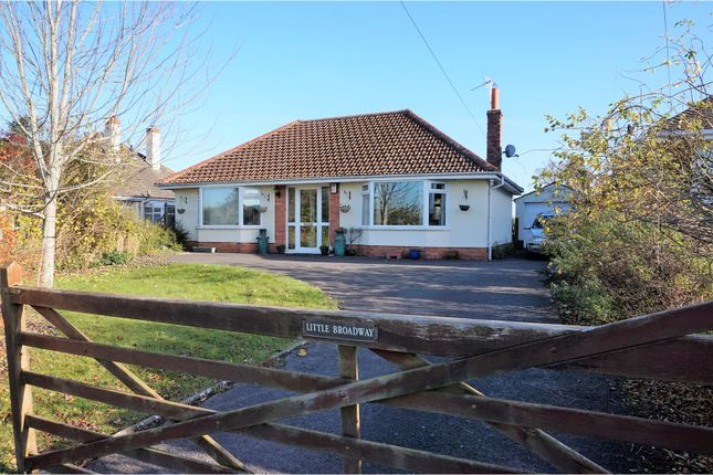 Thumbnail Detached bungalow for sale in Stoke Road, Taunton