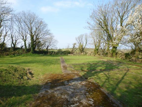Rear Gardens of Pentrefelin, Amlwch, Sir Ynys Mon LL68