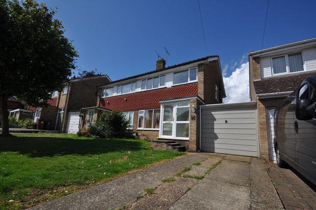 Thumbnail Semi-detached house to rent in Sandilands, Willesborough, Ashford