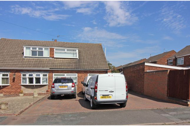 Thumbnail Semi-detached bungalow for sale in Sheila Avenue, Wednesfield, Wolverhampton