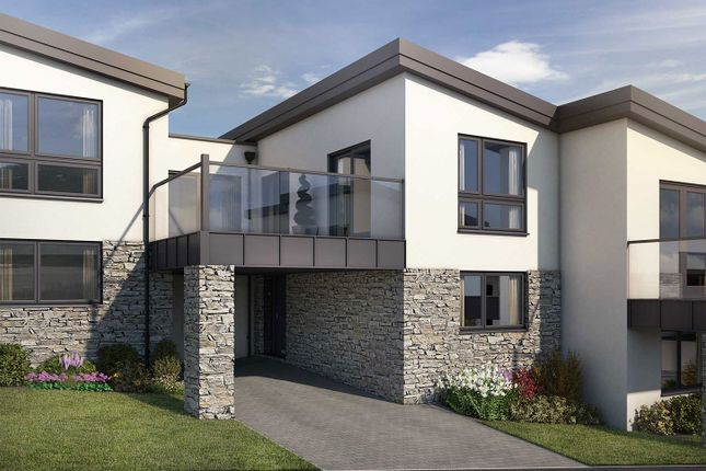 "Thumbnail Semi-detached house for sale in ""The Gorran"" at Welway, Perranporth"