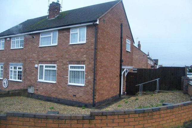 Thumbnail Semi-detached house to rent in Heacham Drive, Beaumont Leys, Leicester