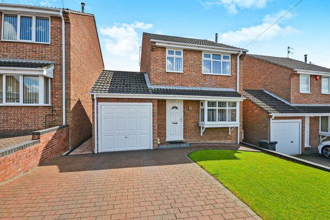 Thumbnail Detached house for sale in Brunel Avenue, Newthorpe, Nottingham