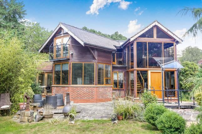 Thumbnail Detached house for sale in Hall Lane, Mobberley, Knutsford, Cheshire